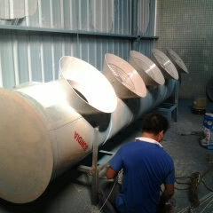 工业废气处理净化塔,聚丙烯废气净化塔,聚丙烯废气吸收塔