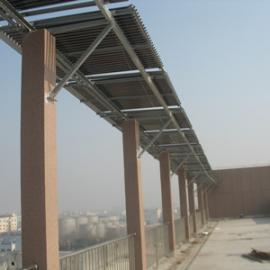 单位200人的太阳能热水工程
