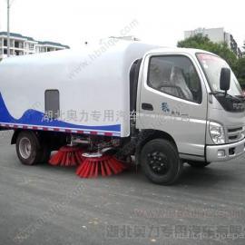 北汽福田扫地车 道路清扫保洁车 小型自动喷水清扫车