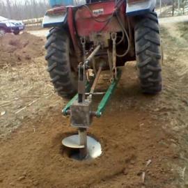 拖拉机悬挂式植树挖坑机