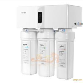 海尔纯水机|HRO5012A-5|净水机|RO|反渗透|LED显示|滤芯监控|正品