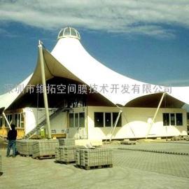 潍坊商业广场、景观张拉膜、学校看台膜结构
