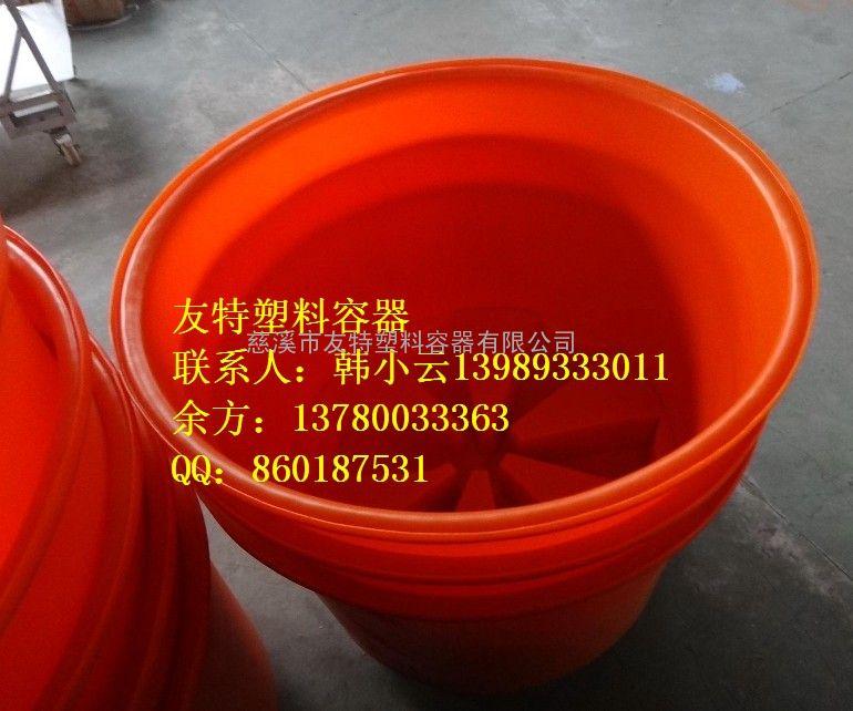 友特容器加工种子催牙桶,PE塑料发芽桶,广西500L圆桶