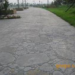 水泥仿石地板