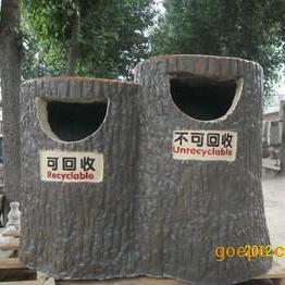 水泥仿木清洁箱