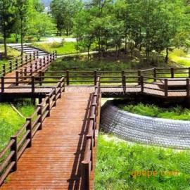 水泥仿木桥