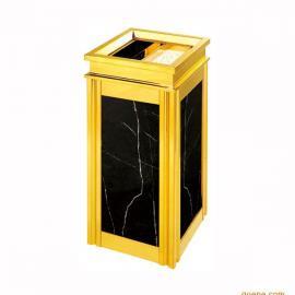 不锈钢垃圾桶定制钛金支架垃圾桶订做,室内果皮桶厂家