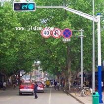 机动车道信号灯杆