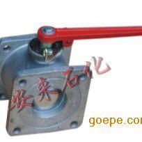 铝合金方形法兰球阀 铝合金槽车球阀