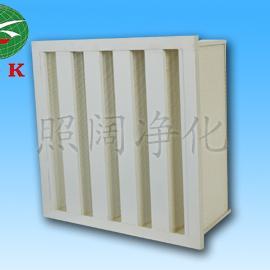 ZZK组合式V型过滤净化器高效过滤器法兰式高效
