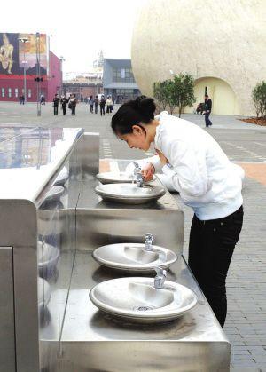 上海世博饮水台