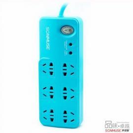 带USB的功能防涌防雷排插接线板