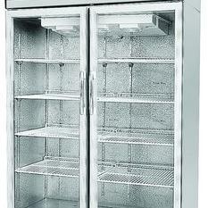 银都商用冰箱JBL0623大二门冷藏展示柜 茶餐厅专用