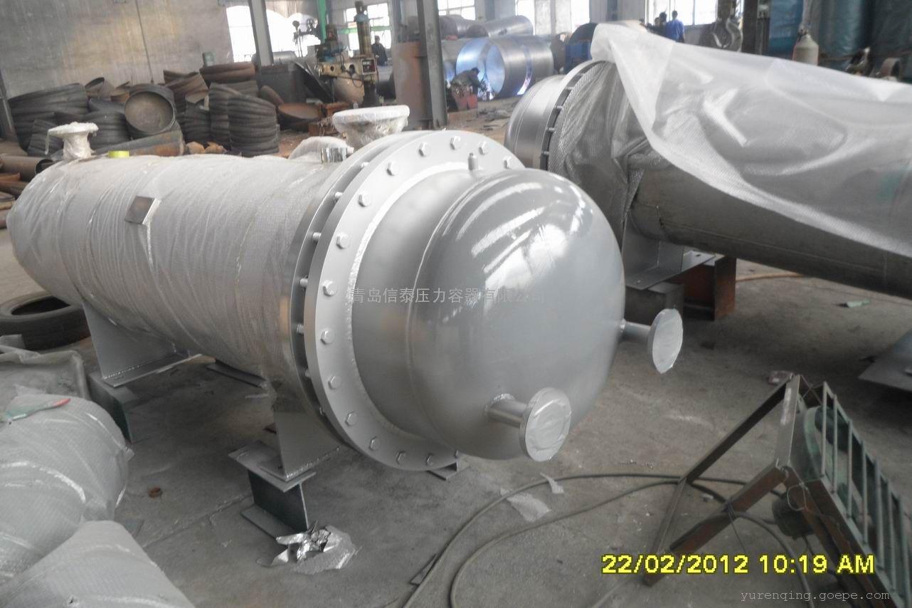 不锈钢容积式换热器管壳式换热器,耐腐蚀表面更光滑,厂家直销