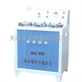 电动防水卷材不透水仪特点