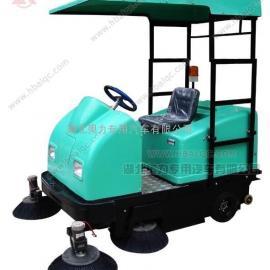 奥力1750型电动垃圾清扫车/明诺扫路机/小型道路清扫机