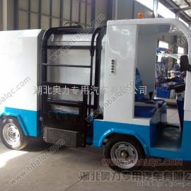 电动四轮吊桶垃圾运输车/小型扫路机/力奇扫地机