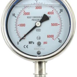 耐震不锈钢压力表,Y-60B,Y-100B,Y-150B