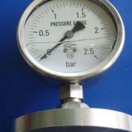 Y-MF系列法兰隔膜式压力表