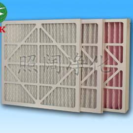 纸框初效空气过滤器,风机过滤网,折叠式过滤网,空调过滤网