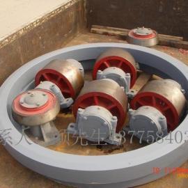 烘干机小齿轮、石英砂烘干机托轮总成装置