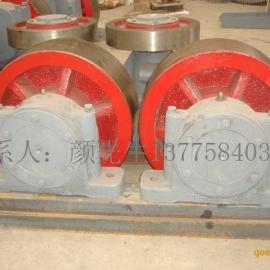 2.2x14米污泥烘干机托轮、挡轮