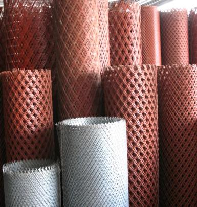 菱形冲孔网 ,机械防护网