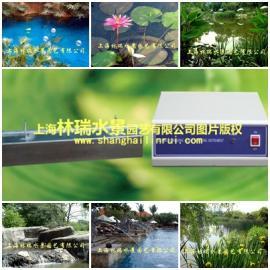 人工湖水质净化处理_超声波除藻仪