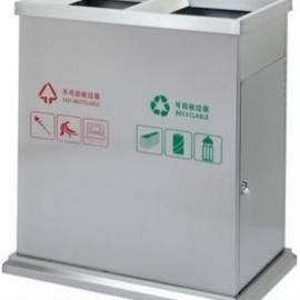 户外金属分类垃圾桶
