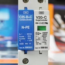 德国厂家直销OBO电源防雷器V20-C/1+NPE
