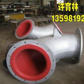 HG/T20677-90衬胶管|90国标衬胶弯头