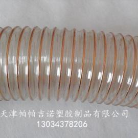 PU钢丝伸缩软管 TPU风管 钢丝伸缩风管 TPU管