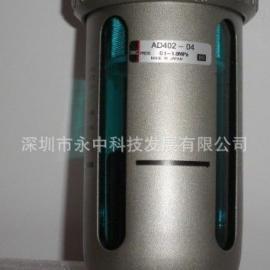 日本SMC原�b�M口自�优潘�器、疏水器AD402-04