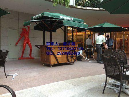 锦州广场售货花车,锦州景区商业街售货亭