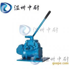 BS-25型便携式手摇泵