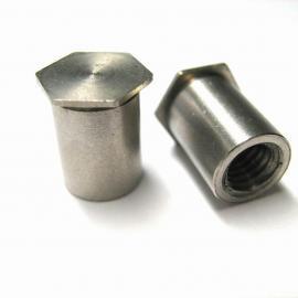 型号规格齐全不锈钢压铆螺母柱BSOS-3.5M3-8