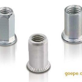 圆形不锈钢拉铆螺母、平头竖纹不锈钢拉铆螺母