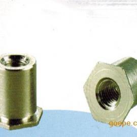 河南压铆螺母柱标准、通孔压铆螺母柱表示方法 SO