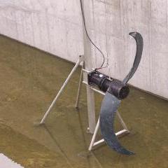 齿轮减速潜水推流器用途