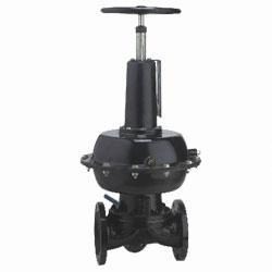 英标气动隔膜阀EG6K41J-10(常开式)