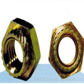 六角斜花齿压铆螺母M6|圆形斜花齿螺母M8