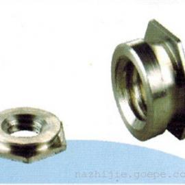 压铆螺母-平齐螺母|片形螺母|齐平螺母规格图片