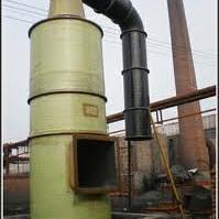 中国河北环境污染保护玻璃钢喷淋脱硫除尘器