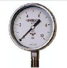 YTFN-60耐震不锈钢压力表