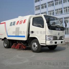 东风福瑞卡扫路车/小型公路清扫车/3吨道路清扫车