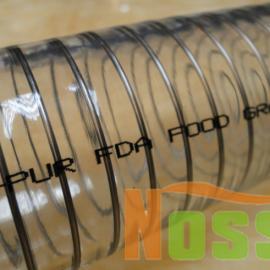 果汁饮料生产输送的PU钢丝软管,食品级软管需求