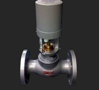 vb-3200法兰连接比例积分调节阀中央空调电动调节阀图片