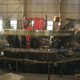 1.5米滚筒烘干机大齿轮(大齿圈)、小齿轮