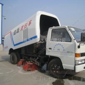 江铃道路清扫车/小型清扫车价格/吸水泥的清扫车
