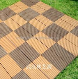武汉格林美木塑地板/园林是外地地板/阻燃地板/塑木铺板